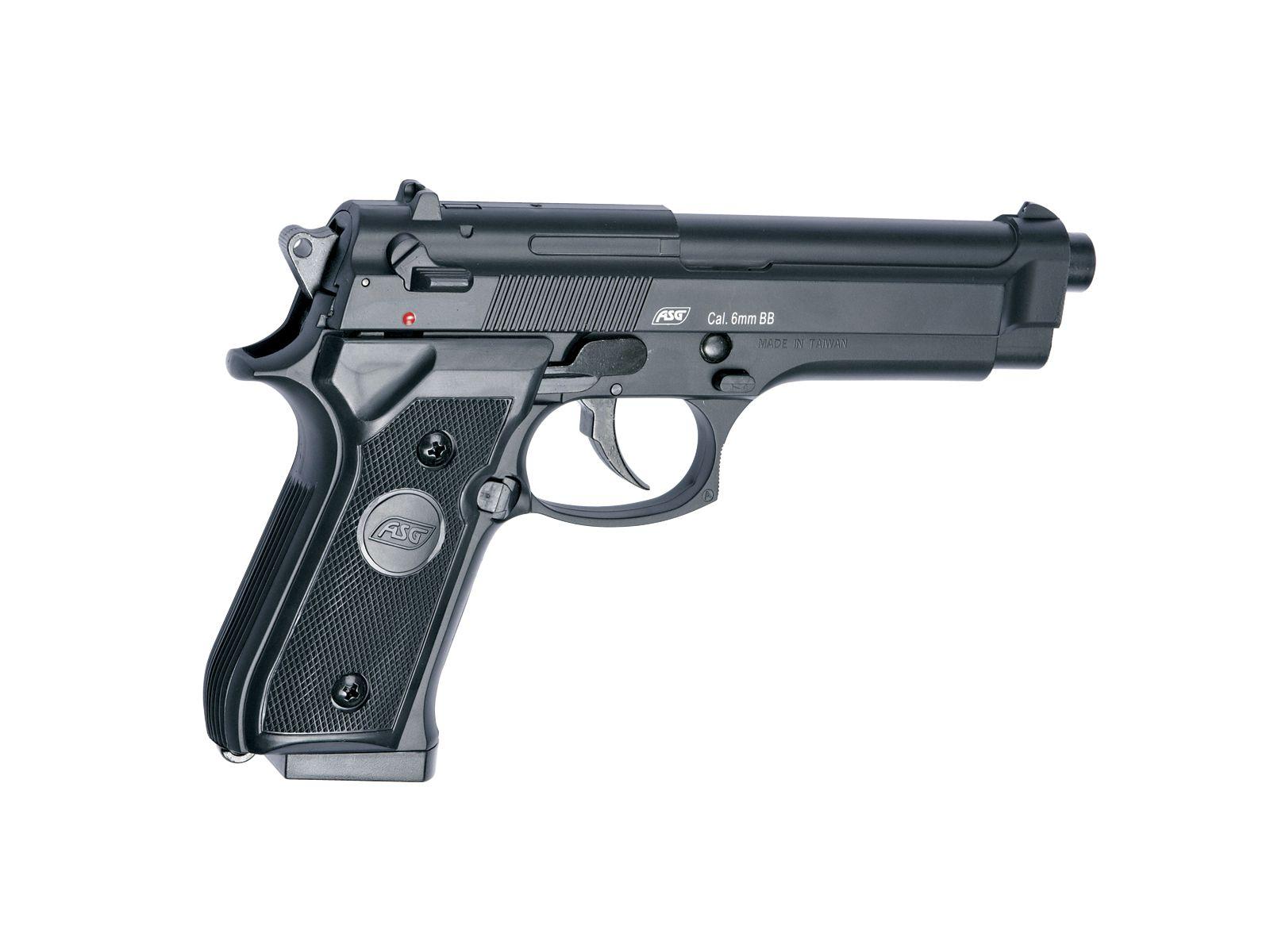 REPLIQUE AIRSOFT A RESSORT M92F HEAVY - ASG