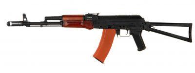REPLIQUE AIRSOFT AEG AK-74S METAL ET BOIS - JING GONG