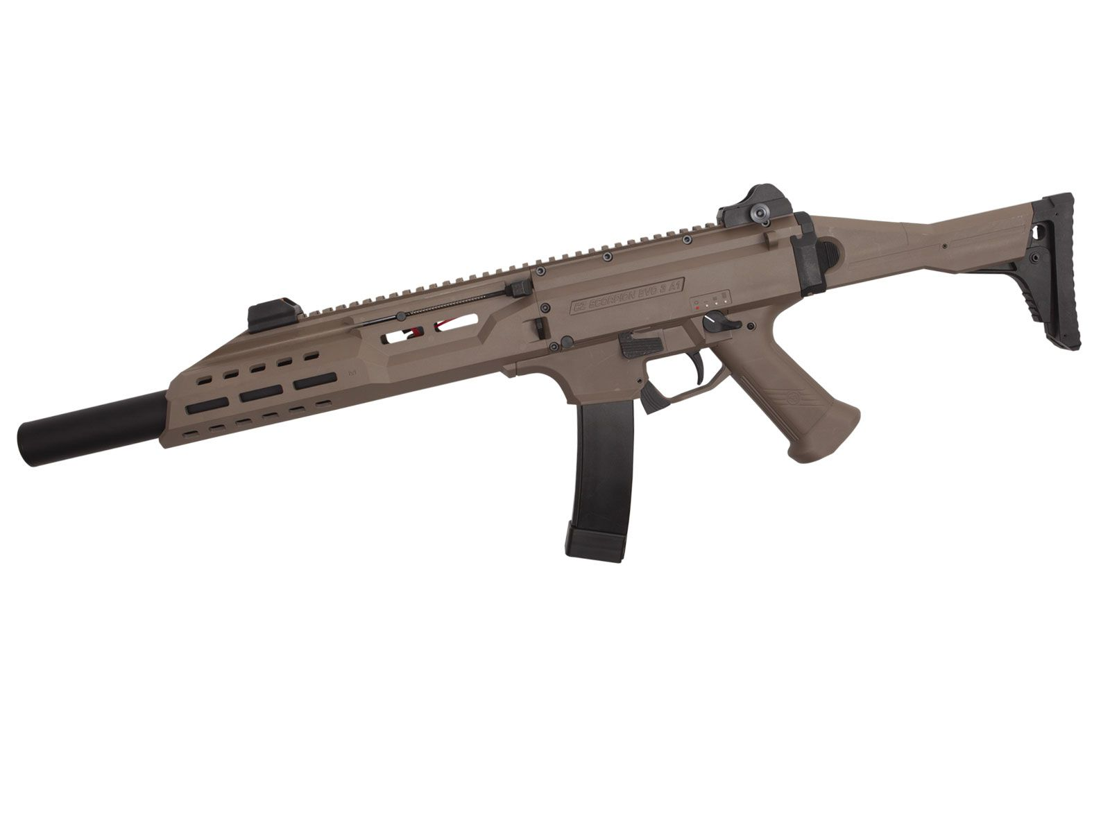 REPLIQUE AIRSOFT AEG CZ SCORPION EVO 3A1 B.E.T - ASG