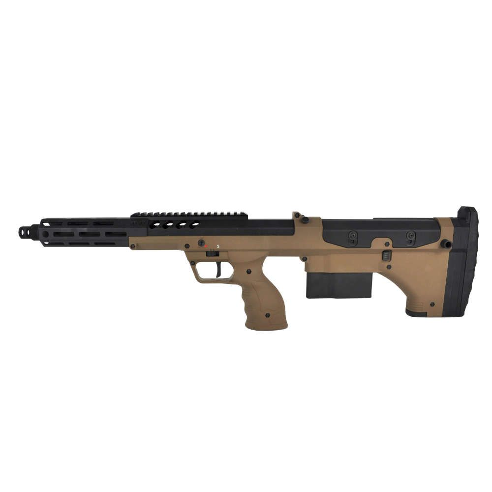 """REPLIQUE AIRSOFT SRS A2/M2 16\"""" COVERT - SILVERBACK"""