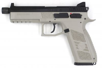 RÉPLIQUE CZ P-09 GBB - URBAN GREY - ASG
