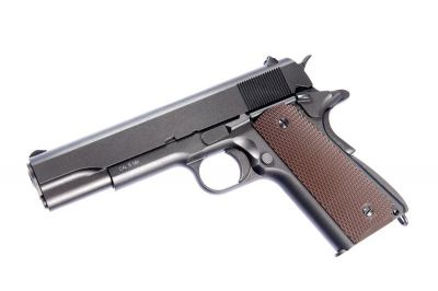 REPLIQUE DE POING AIRSOFT CO2 BLOWBACK 1911 WWII - KWC