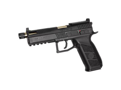 REPLIQUE DE POING AIRSOFT GBB CZ-P09 OR - ASG