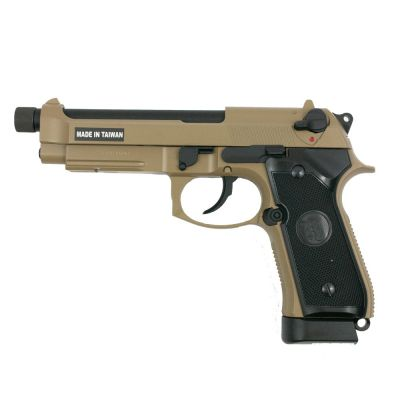 REPLIQUE DE POING AIRSOFT M9A1 TBC CO2 - KJ WORKS
