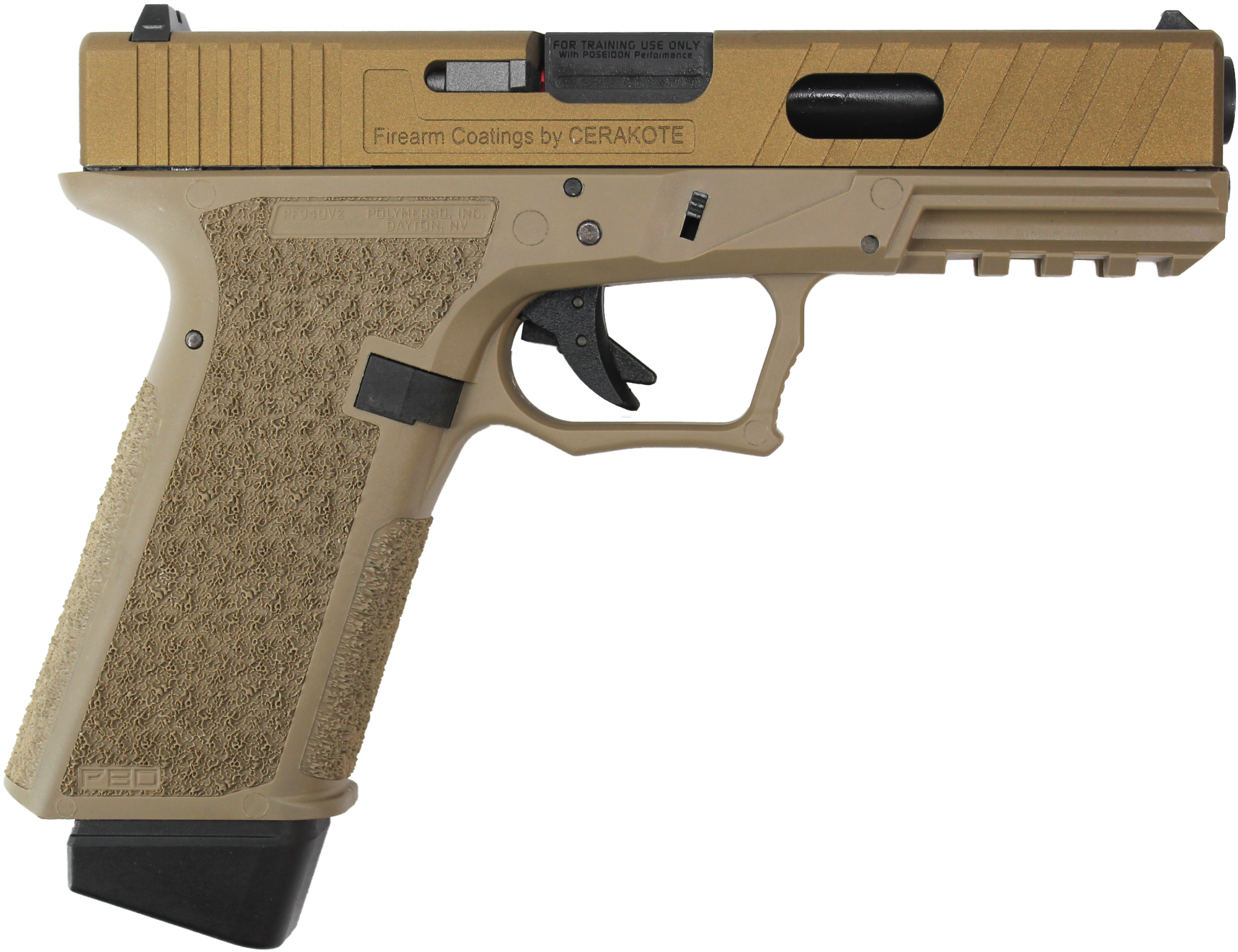 REPLIQUE DE POING AIRSOFT P17 EVO II - POSEIDON