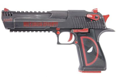 REPLIQUE DE POING DESERT EAGLE L6 DEADPOOL GBB - CYBERGUN