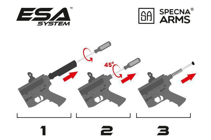RÉPLIQUE SA-E01 EDGE - RRA - SPECNA ARMS
